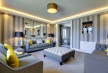 Decoration ideas for Living rooms and Lounges / Classy living rooms and lounges designed by Mactagart and Mickel Homes in Scotland! Luxurious designs and furniture to decorate you dream home!