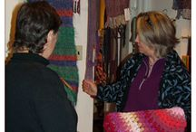 Pottery, Weavery, Fiber Arts, Mosaics / sharing our beautiful creations and the techniques we use at Camphill Kimberton
