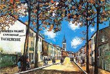 Maurice Utrillo / tvorba malba
