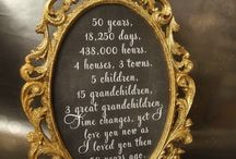 50th wedding anniversary / by Nicole Isaacs