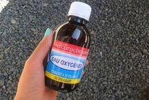 eau oxygénée