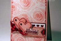 Stampin up Valentijn cards