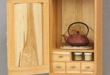 Tea cabinets