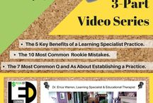 Teacher Training / This Pinterest Teacher Training board offers teachers, learning specialists, and educational therapists information on multisensory instruction, fun learning products and courses that can help them to accommodate all learners.