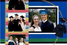 graduation scrapbooking
