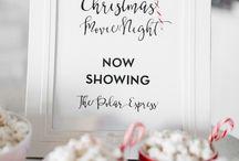 Christmas Movie Pajama Party