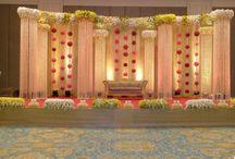 Weddings stage