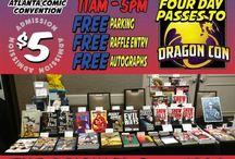Atlanta Comic Convention 07/08/2018