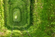 Underground Portals / Tunnels, real or not, from this world or not.