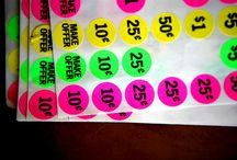 Price Labels / Preis Design