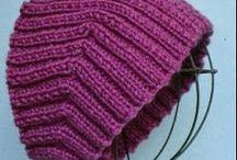 вязание головные уборы