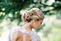 wedding - bridal hair / Romantisch und elegante Brautfrisuren zur Hochzeit