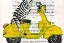 Art inside books