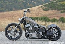 Harley Softail Night Train Bobber