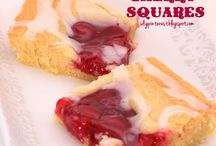Food: Squares and Bars