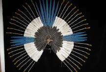 amazon indian art, crafts. kоллекция ремесел индейцев aмазонa. sammlung amazonas indianer handwerk. / genuine Karaja, almost extinct tribe, artifacts
