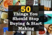 stop buying start making