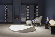 Style Contemporain : Une salle de bains Design / Voici nos idées #Déco pour une salle de bains TOTAL LOOK CONTEMPORAIN. Des formes pures, des lignes simples, un #Design graphique pour dessiner vos espaces.   #Contemporain #Contemporary #Bathroom #Salledebains #LifeStyle #Moderne #Inspiration #Déco #Décoration #Light #Mobilier