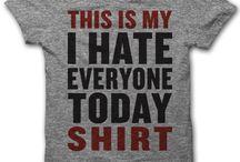 T shirts I need