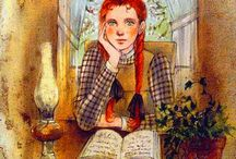 Anne Shirley, Road to Avonlea / Sweet and cute novels from an amazing period of time with wonderful main characters full of imagination.