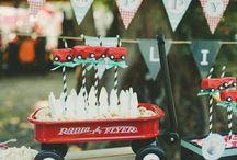Red Wagon Birthday / by Bonnie Matthews