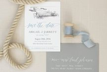 LPCo. Save the Dates / Custom Wedding Save the Dates + Calligraphy