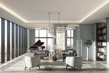 Interiors Living / dining