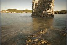 corsica, Sicily, corfy, Ithaca,kephalonia, Kythera, LefkasZante / the best beaches
