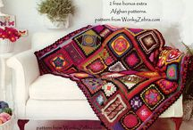 Home crochet / crochet patterns for blankets, afghans, pillows, and cushions