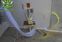 ΔΙΑΚΟΣΜΗΤΙΚΗ ΚΑΡΔΙΑ LED - DECORATIVE LED HEART