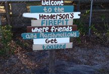 DIY signs & wreaths / Signs and wreaths