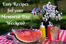 Memorial Day Recipes, Activities, Ideas