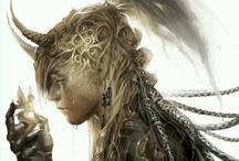 Elves / Magical little creature.