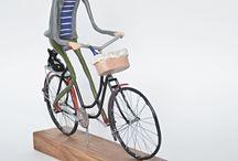 Cyklista z Provence / kera plast
