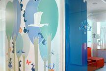Hospitales para niños / Innovadoras ideas de como decorar los hospitales para niños, esto ayudará a su familiarización con el ambiente y de este modo mejorar sus actitudes al momento de ingresar a la consulta