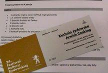 Warsztaty kuchni żydowskiej w Krakowie / madzik-gotuje.blogspot.com