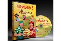 DVD Spievankovo / DVD detičky zabaví a veľa vecí naučí. Sú plné veselých pesničiek, ktoré si obľúbi celá rodina.