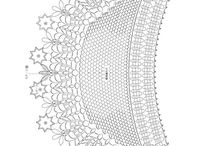 Crochet Shawl Diagram