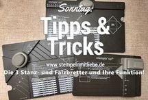 Stampin Up - Falzbrett