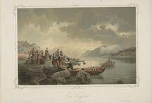 Norske Folkelivsbilleder 1854 / av Adolph Tidemand, og utgitt av Chr. Tønsberg (Christiania, 1854)