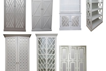 Fretwork / Inspiration for fretwork mirrored doors. Interiors trade professionals - draw your own design and we can cut it!