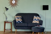 Home: Navy, Olive & Peach Inspiration