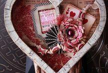 Altered Valentines Chocolate Box