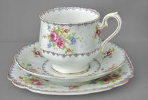 tea  cup trios