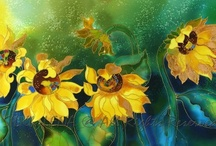 Silk Paintings / by Sandy England