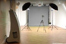 Studios Photocall / Fond uni, bâche ou décor du lieu