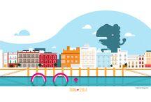 Ilustraciones | Láminas / Diseños e ilustraciones para decorar y alegrar tus espacios.
