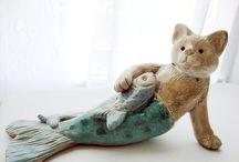 Cat mermaid / Art