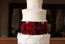 Red Wedding Cake Ideas