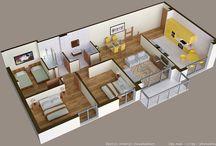 House interior PLAN
